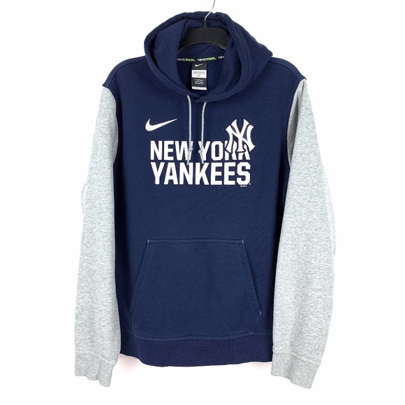 new arrival cc63e 73e12 Nike Men's New York Yankees Hoodie Sweatshirt MLB